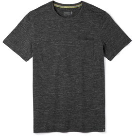 Smartwool Everyday Exploration Camiseta Bolsillo Hombre, black heather